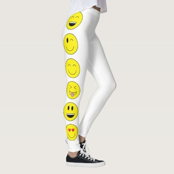 """Emojis"" Leggings"