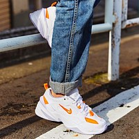 Nike Air Monarch the M2K Tekno New Fashion Hook Sports Leisure Running Women Shoes White