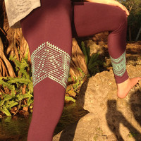 Tribal Chevron Leggings