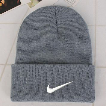 Nike Fashion Edgy Winter Beanies Knit Hat Cap-1