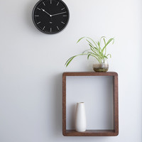 Riki Steel Clock - Midnight Black