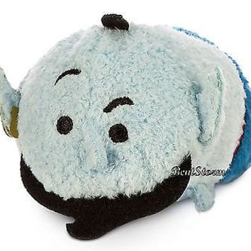 "Licensed cool ALADDIN BLUE MAGIC GENIE Tsum Tsum Mini Plush 3.5"" USA Disney Store SOLD OUT"
