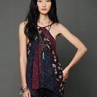 Free People Pieced Printed Tank
