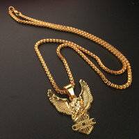 Stylish New Arrival Gift Jewelry Shiny Hot Sale Fashion Accessory Hip-hop Korean Couple Club Necklace [6542762051]