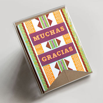 Muchas Gracias Banner Boxed Set