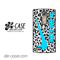 Nike Leopard Just Do It For LG G4 Case Phone Case Gift Present YO
