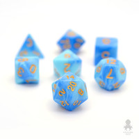 Blue Sky Dungeons and Dragons Polyhedral Dice Set