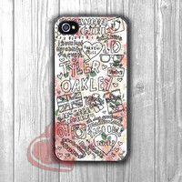 floral tyler oakley youtubers collage-11ny for iPhone 4/4S/5/5S/5C/6/ 6+,samsung S3/S4/S5,samsung note 3/4