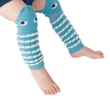 1 Pair Animal Shape Lovely Cotton Leg Warmers Baby Socks 30CM Baby Child Knee Pads New Brand For Kids Boy&Girls Christmas Gifts
