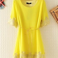 EMBROIDED CHIFFON LACE TOPs for Women