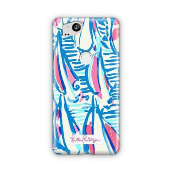 Lilly Pulitzer Resort White Red Right Return Inspired Google Pixel 3 XL Case | Casefantasy
