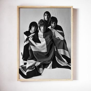 The Who Poster Art Painting Print Canvas Print