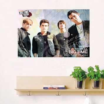 Y627#70 Hot Big Time Rush in Cologne Canvas Painting Wall Silk Poster cloth print DIY Fabric Poster L#70
