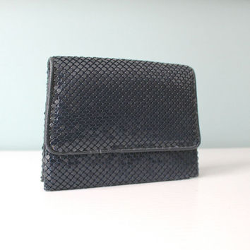 Vintage La Regale Metal Mesh Clutch