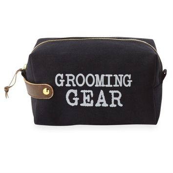 'Grooming' Dopp Kit By Mudpie