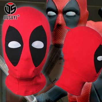 U.S Deadpool Masks JLA Balaclava Halloween Cosplay Costume X-men Captain Black Panther Arrow Deathstroke Fabrics Full Face Mask