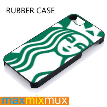 Starbucks 2011 iPhone 4/4S, 5/5S, 5C, 6/6 Plus Series Rubber Case