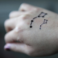 Spirit Ink Temporary Tattoo - Big Dipper