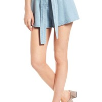 The Fifth Label Blue Eyes Chambray Shorts | Nordstrom