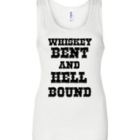 Whiskey Bent and Hell Bound Tank Top