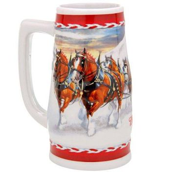 2010 Budweiser Holiday Stein by Unknown