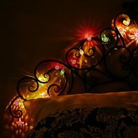Maroq String Lights in Neon - Urban Outfitters