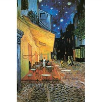 The Cafe Terrace at Night -Van Gogh Poster for Boring College Dorm Doors