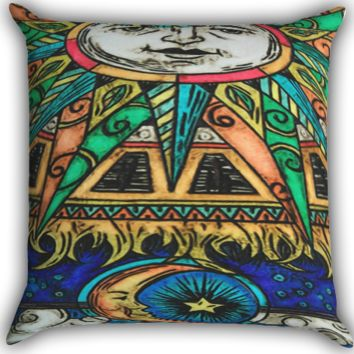 The Moon And Sun Lana Del Rey A0325 Zippered Pillows  Covers 16x16, 18x18, 20x20 Inches