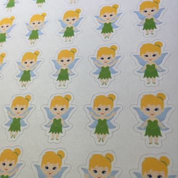 Tinkerbell Planner Stickers ~ Disney Inspired  | Life Planner | EC | Erin Condren | Limelife | Inkwell | Plum | Kikki | Decorative | Movie
