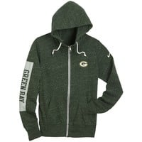 Packers Women's Tailgate Vintage Full Zip Hoodie at the Packers Pro Shop