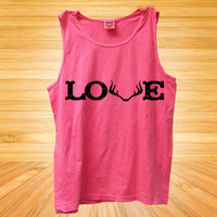 LOVE with Antlers Tank