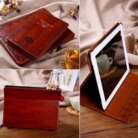 Vintage Leather Case For iPad Air