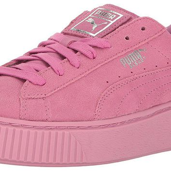 puma women s basket platform reset wn s fashion sneaker  number 1