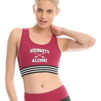 Harry Potter Hogwarts Alumni Low-Impact Sports Bra