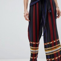 Intropia Striped Trousers at asos.com