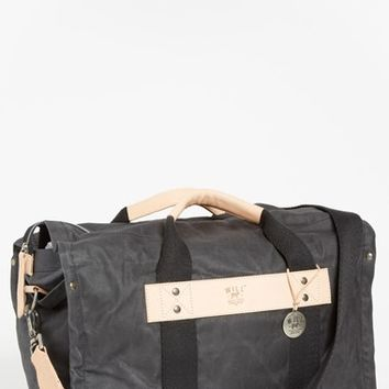 Men's Will Leather Goods Canvas Duffel Bag