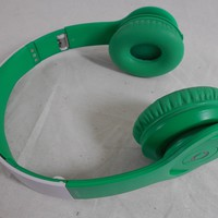Used Matte Green / White Genuine Beats by Dr. Dre Solo HD Headphones Excellent Sound