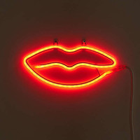 Lips Neon Sign | Urban Outfitters