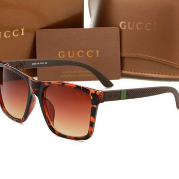 Gucci sunglass AA Classic Aviator Sunglasses, Polarized, 100% UV protection 2974244977 GG2247