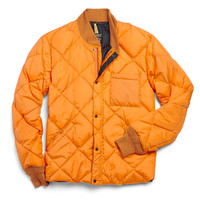 Rocky Mountain Featherbed Down Jacket In Orange