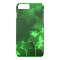 Green Stars iPhone 7 Plus Case