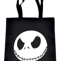 Jack Skellington Tote Book Bag School Goth Nightmare before Christmas