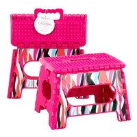 Fold Away Step Stool - Shag Madison