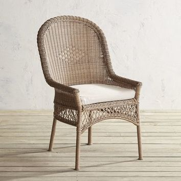 Santa Barbara Light Brown Dining Chair