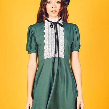 Jolie Dress (Hunter Green)