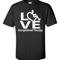 OT Occupational Therapy Love - Unisex Tshirt