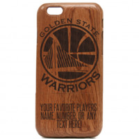Golden State Warriors Wooden iPhone Case – Warriors iPhone Case, NBA Stephen Curry iPhone cover