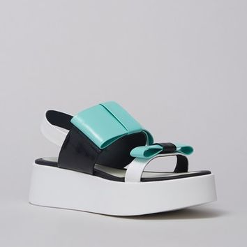 Kenzo Bow Platform Sandals - WOMEN - JUST IN - Kenzo - OPENING CEREMONY