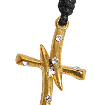 Cross Handmade Brass Necklace Pendant Jewelry