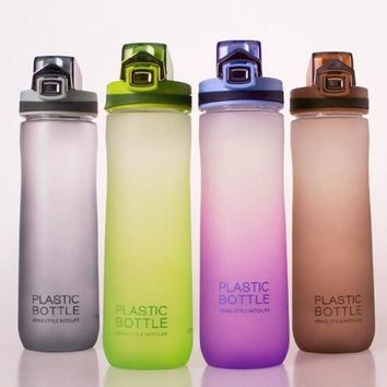 600ml Portable Water Bottle With Handle Leak-Proof Durable Drinkware My Sports Bottles Eco-Friendly